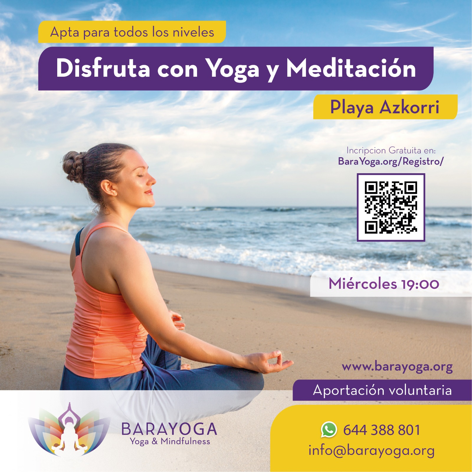 Conoce los beneficios de realizar yoga en la playa