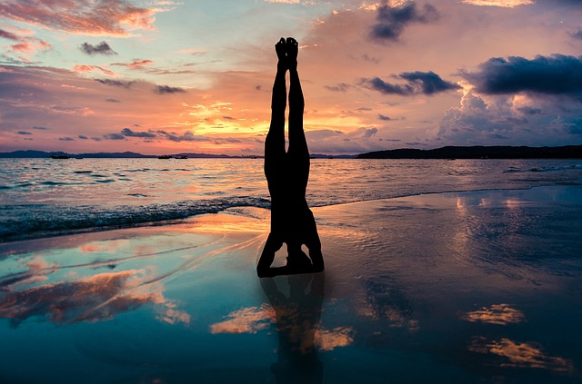 Sirsasana or Headstand. Steps for the most well-known Yoga inversion.